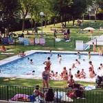 piscina infantil del club