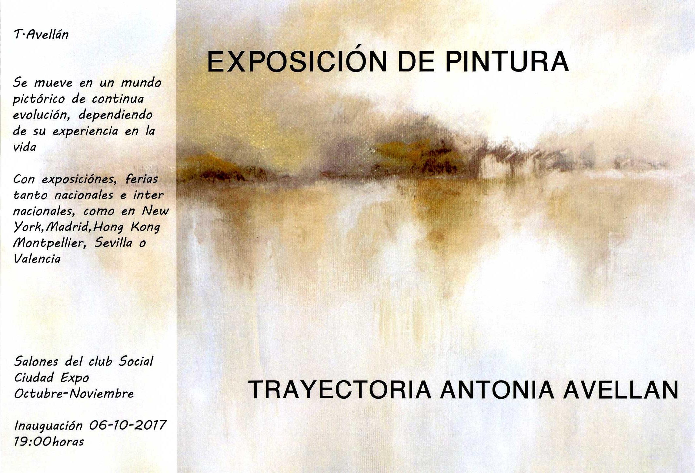 EXPOSICIÓN DE PINTURA ANTONIA AVELLAN