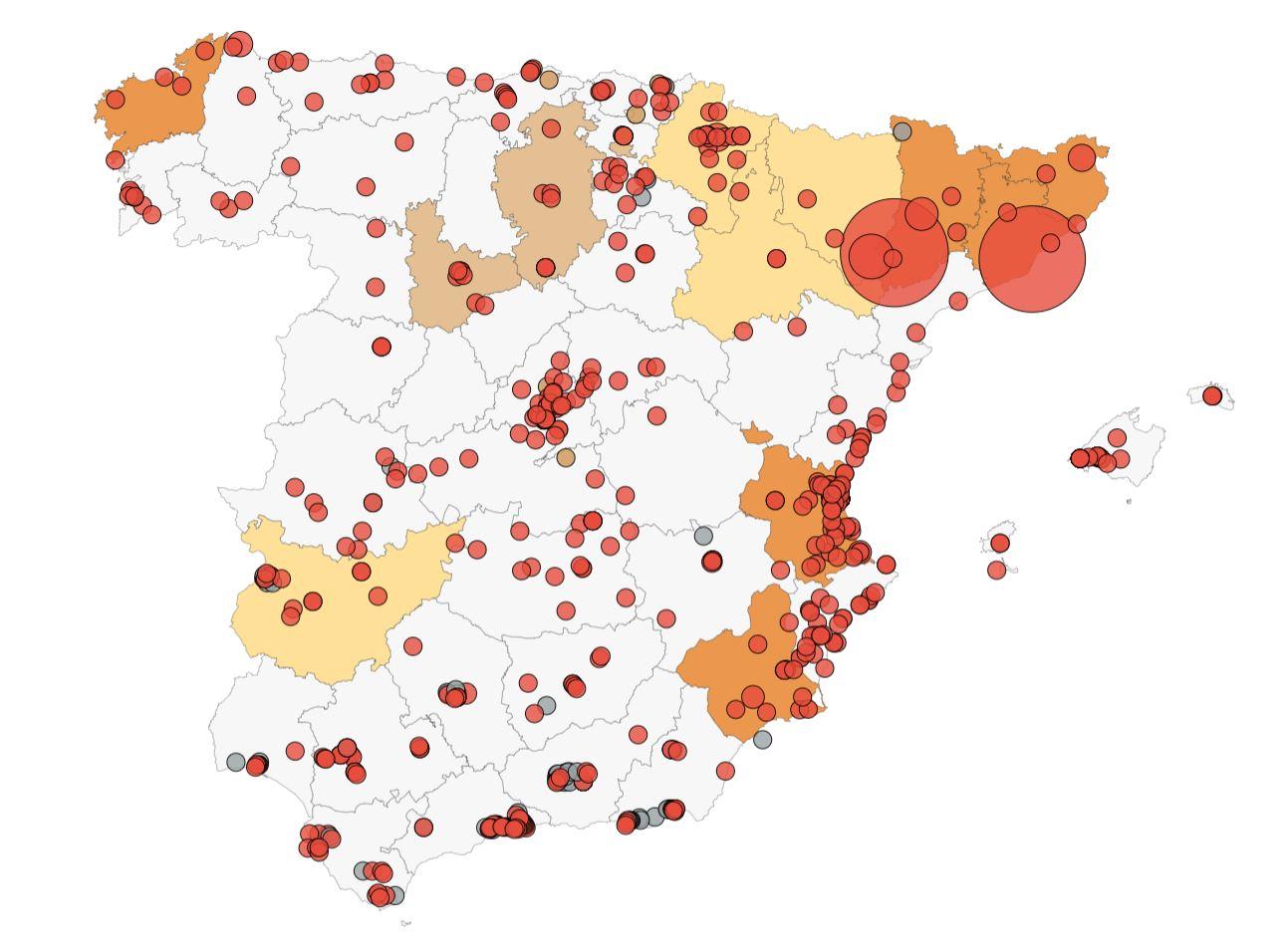 REBROTES DE COVID-19 EN COMUNIDADES DE PROPIETARIOS